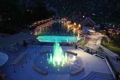 glenwood hot springs fountain